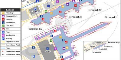 Mapa Terminal 1 Barcelona.Barcelona Mapa Mapas Barcelona Cataluna Espana